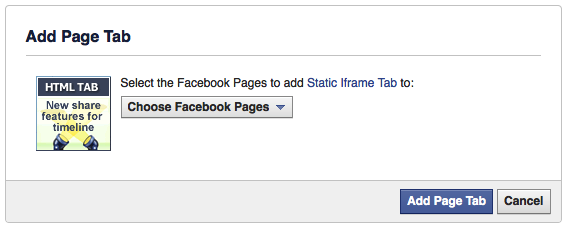 Picture of Create an Iframe Enabled Tab