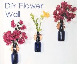 Easy Flower Wall