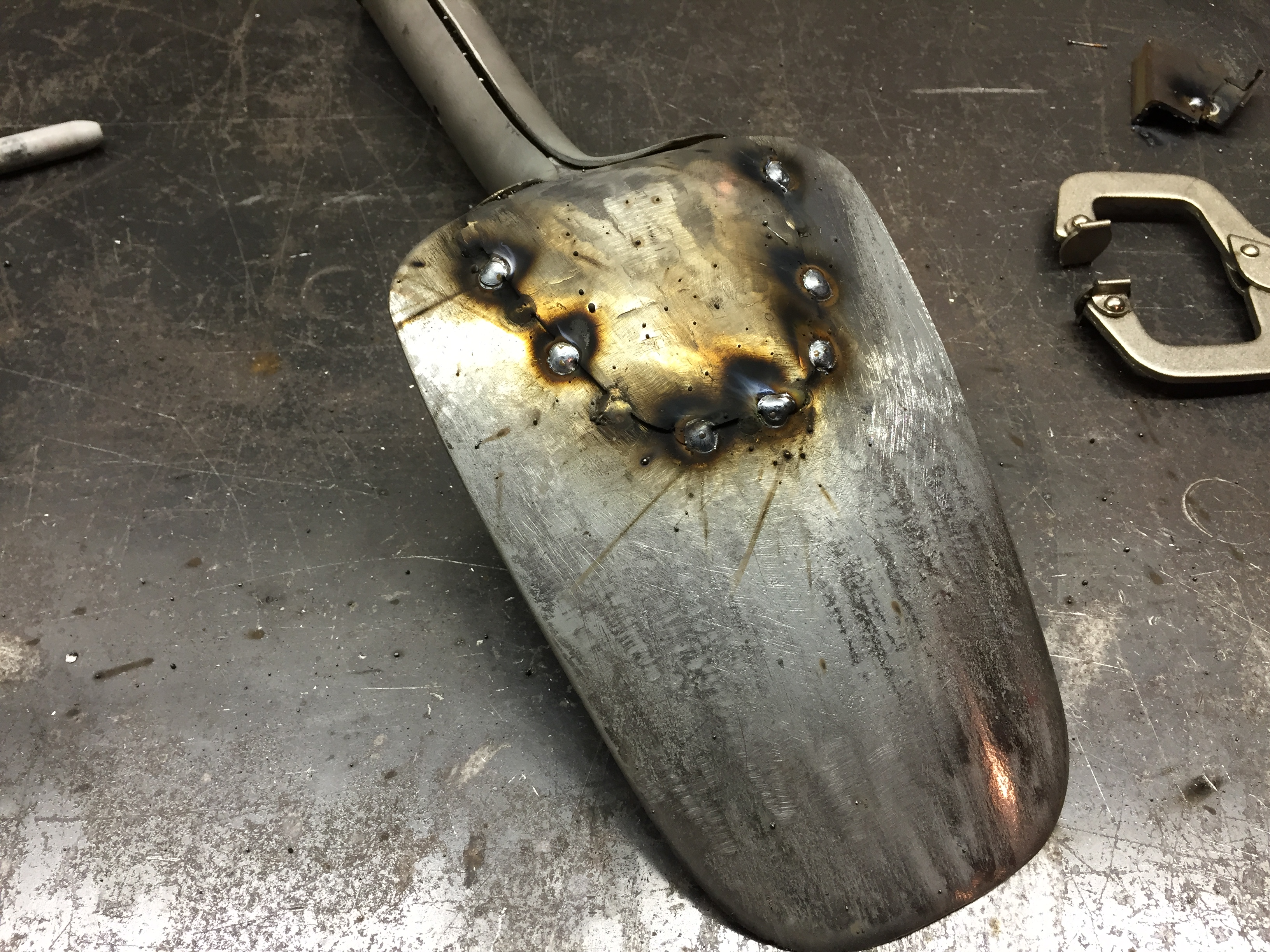 Picture of Welding (part 2) the Patch