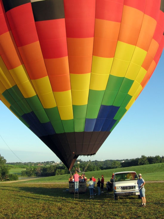 Become the Master of the Skies by Taking a Hot-Air Balloon Ride