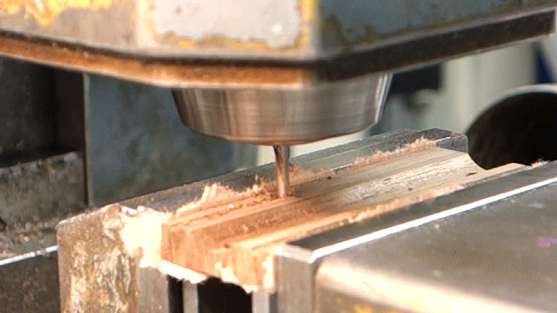 Picture of Grounding Bar: Making