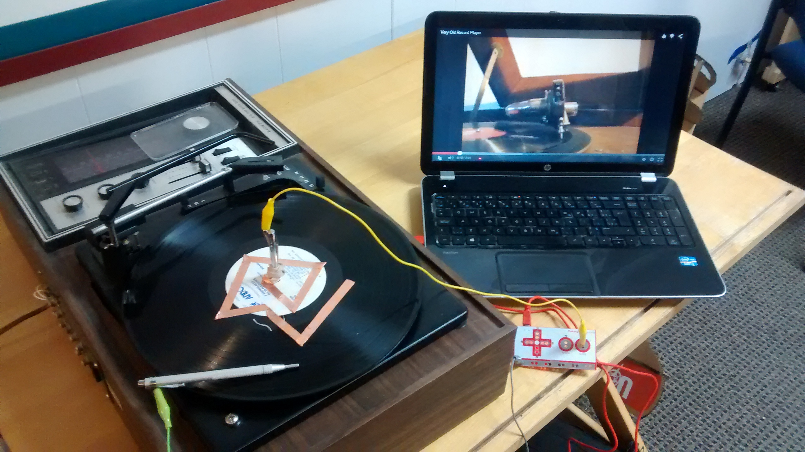 Picture of MakeyMakey Record Maze Game