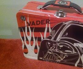 Vader Box . Intergalactic Raspberry Pi Battery Powered Transmitter Receiver BOT