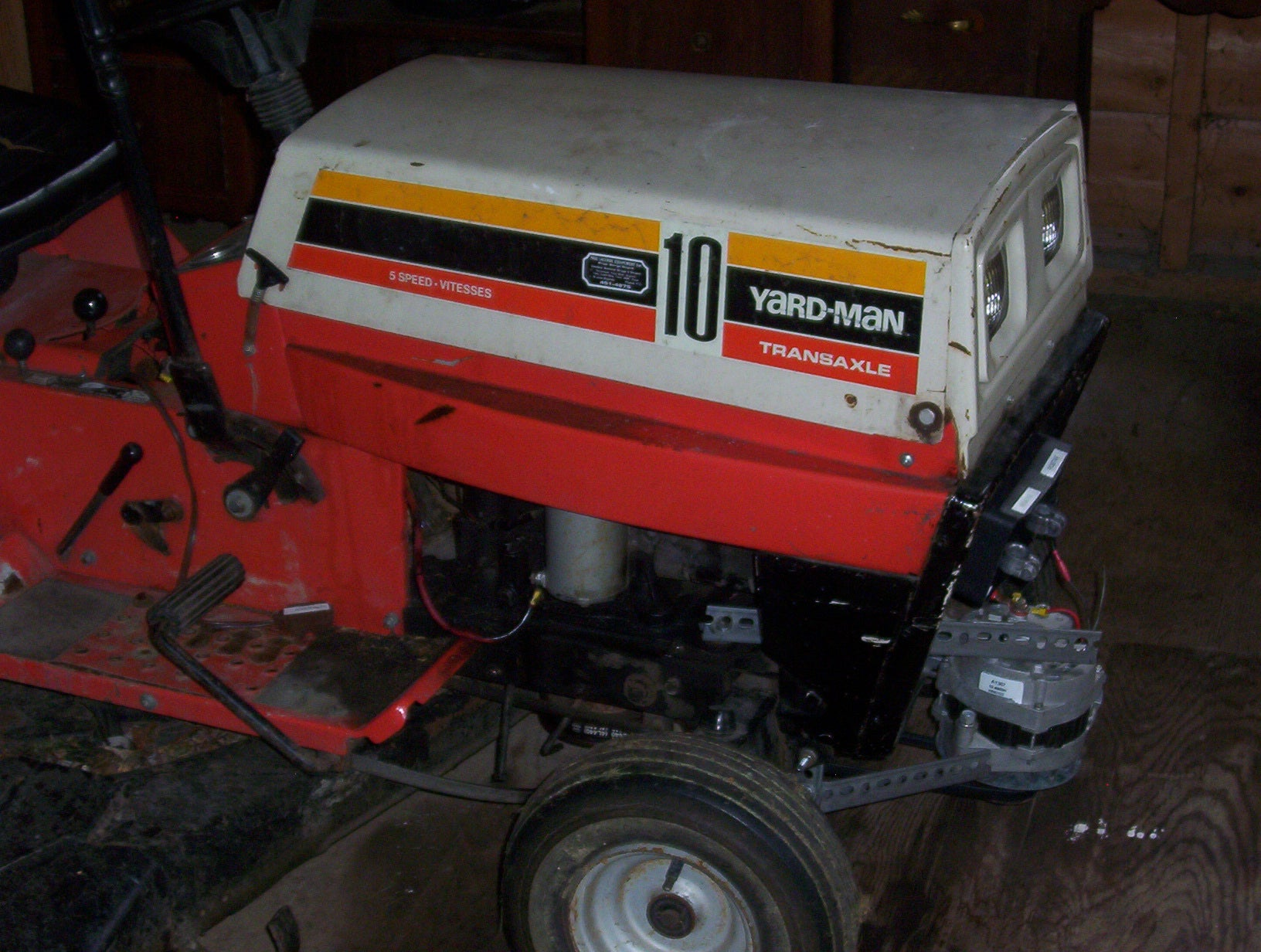 Homebuilt Generator Riding Lawn Mower 1kw 5 Steps With Pictures Instructables