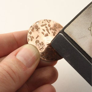 Vintaj Textured Bib-Style Necklace