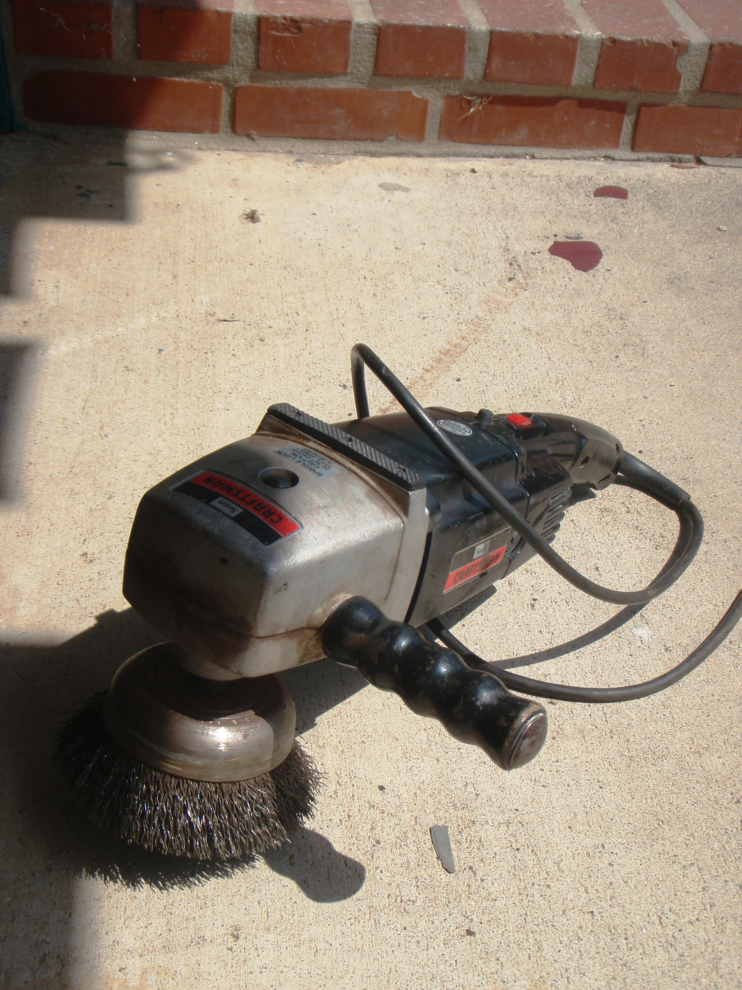 Picture of Sanding, Grinding, and More Sanding