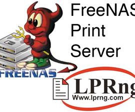 FreeNAS As a Print Server