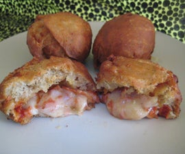 """Deep Fried Pizza """"Donuts"""""""