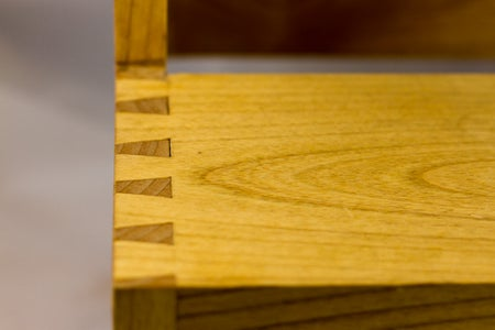 Dovetail the Steps Into the Side Pieces