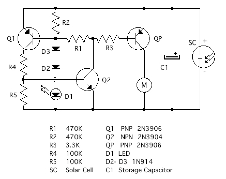 Picture of Easter Engine Circuit