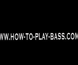 How To Play Bass to Smooth Criminal