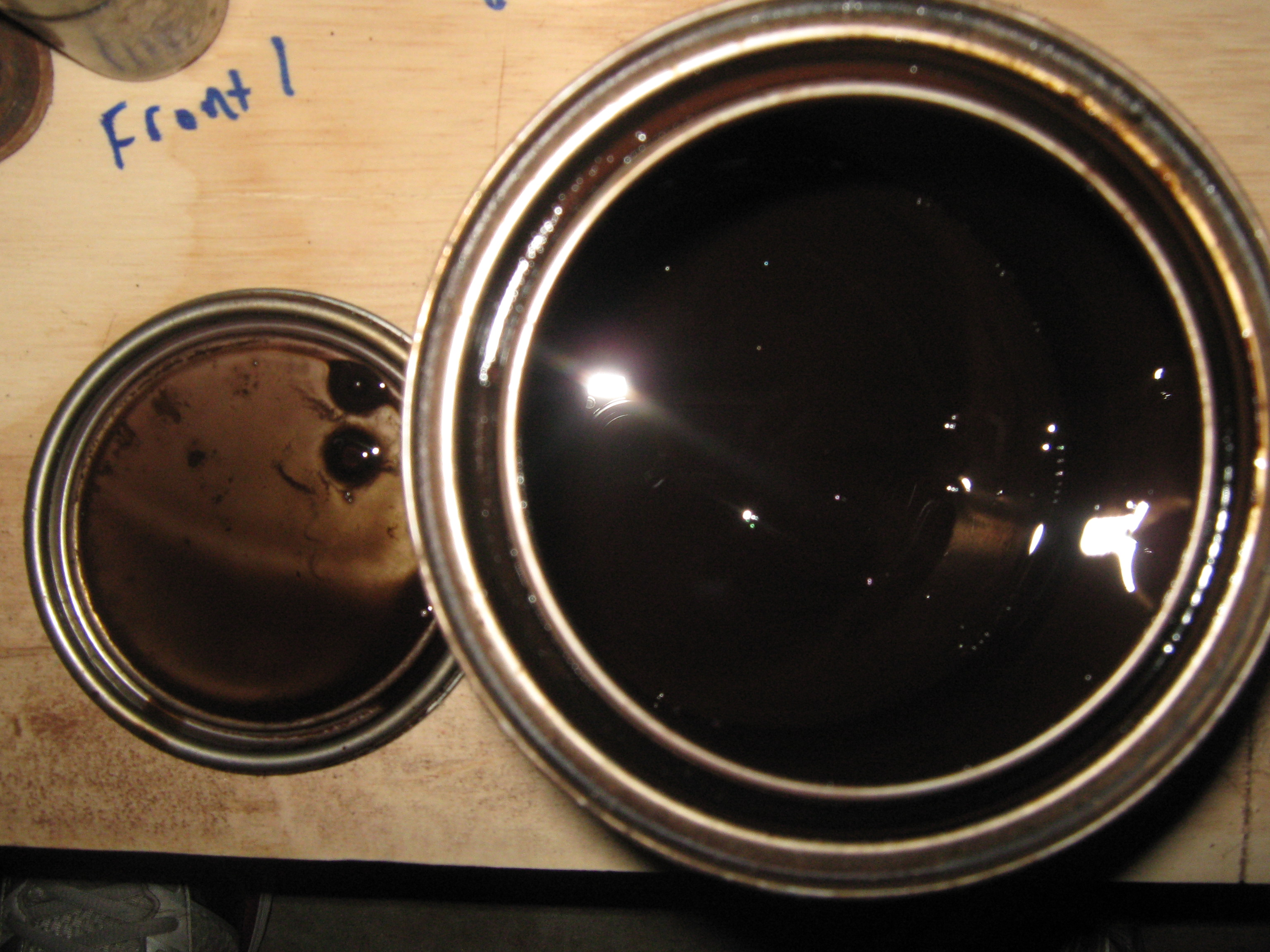 Picture of Staining Wooden Parts.