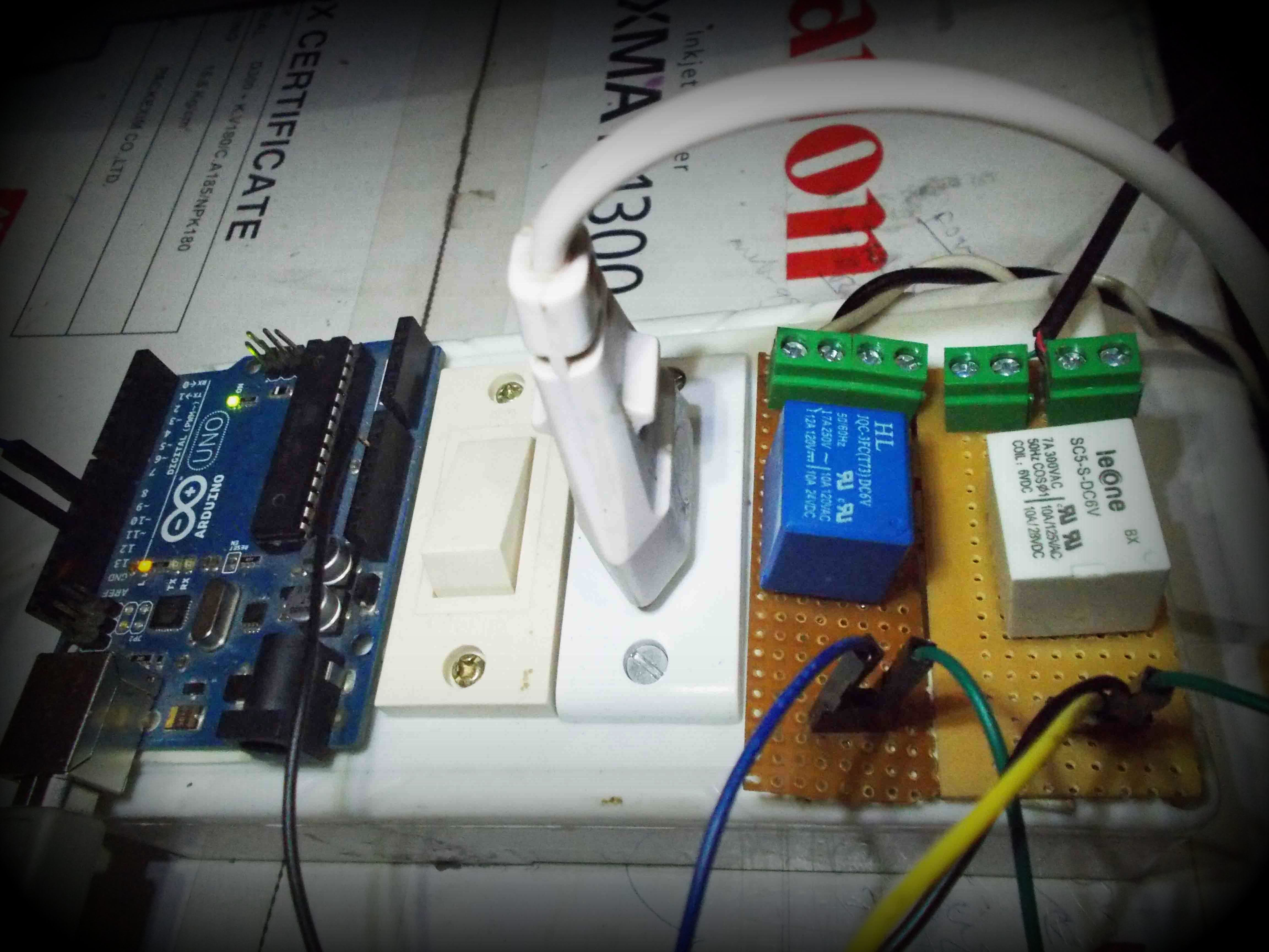 Picture of Voice Controlled Switch With Arduino