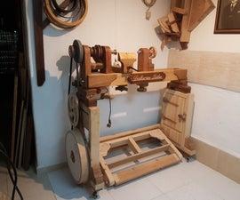 Wooden Lathe