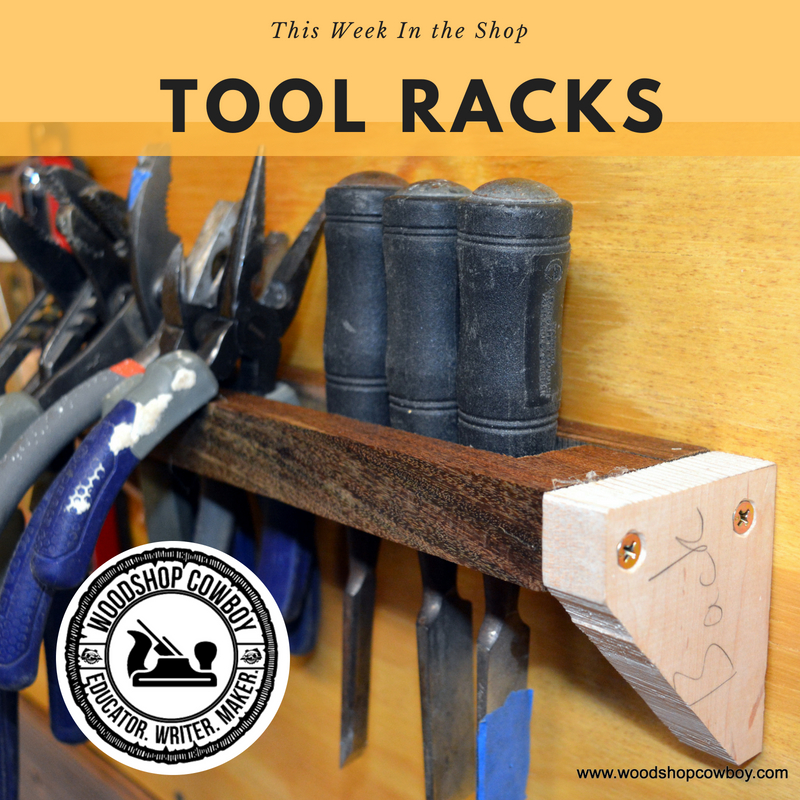 Picture of Build a Tool Rack for Your Tool Wall