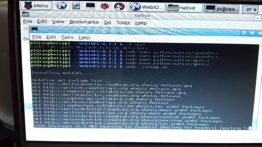 Download and Install Last Release Webiopi