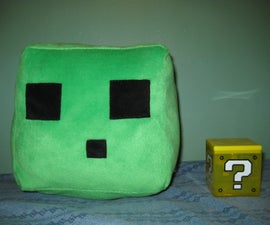 Make a Slime Plushie from Minecraft