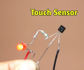 How to Make Touch Switch Sensor