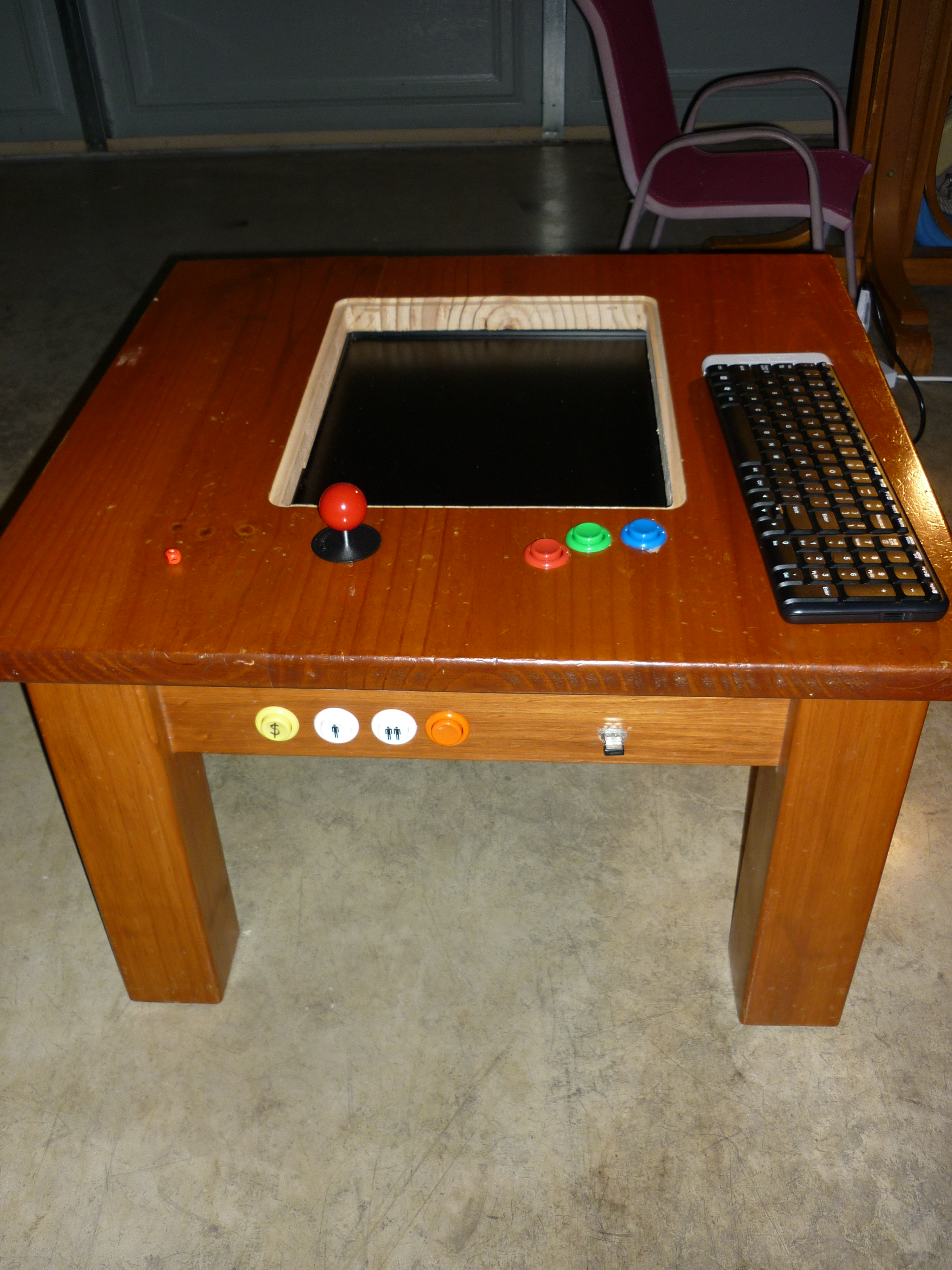 Picture of MAME Gaming Table With Raspberry Pi
