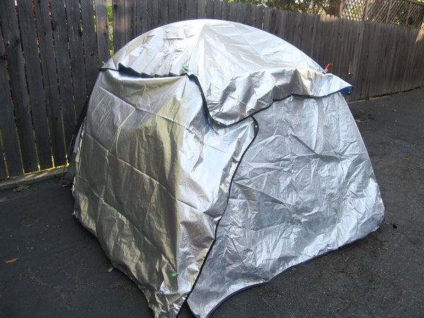 Adding Thermal Insulation to Your Tent
