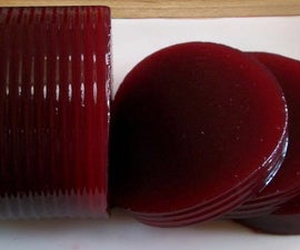 DIY Jellied Cranberry Sauce in a Can!