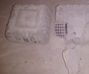 Plastic Re-enforced Concrete Fail