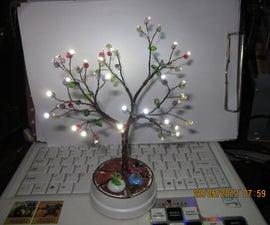 WHITE LED SMD TREE