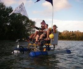 Tall Amphibious Couchbike