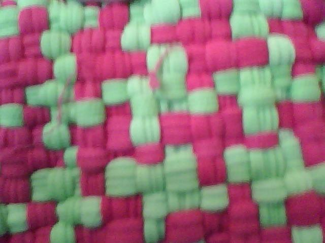Picture of Woven Potholder Purse