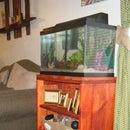 Self cooling aquarium stand