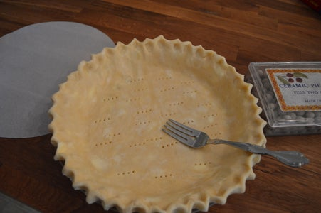 Blind Baking the Crust