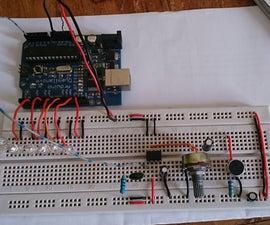 Arduino VU meter