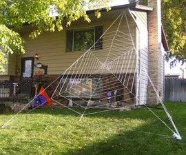 Gigantic Halloween Spider Web