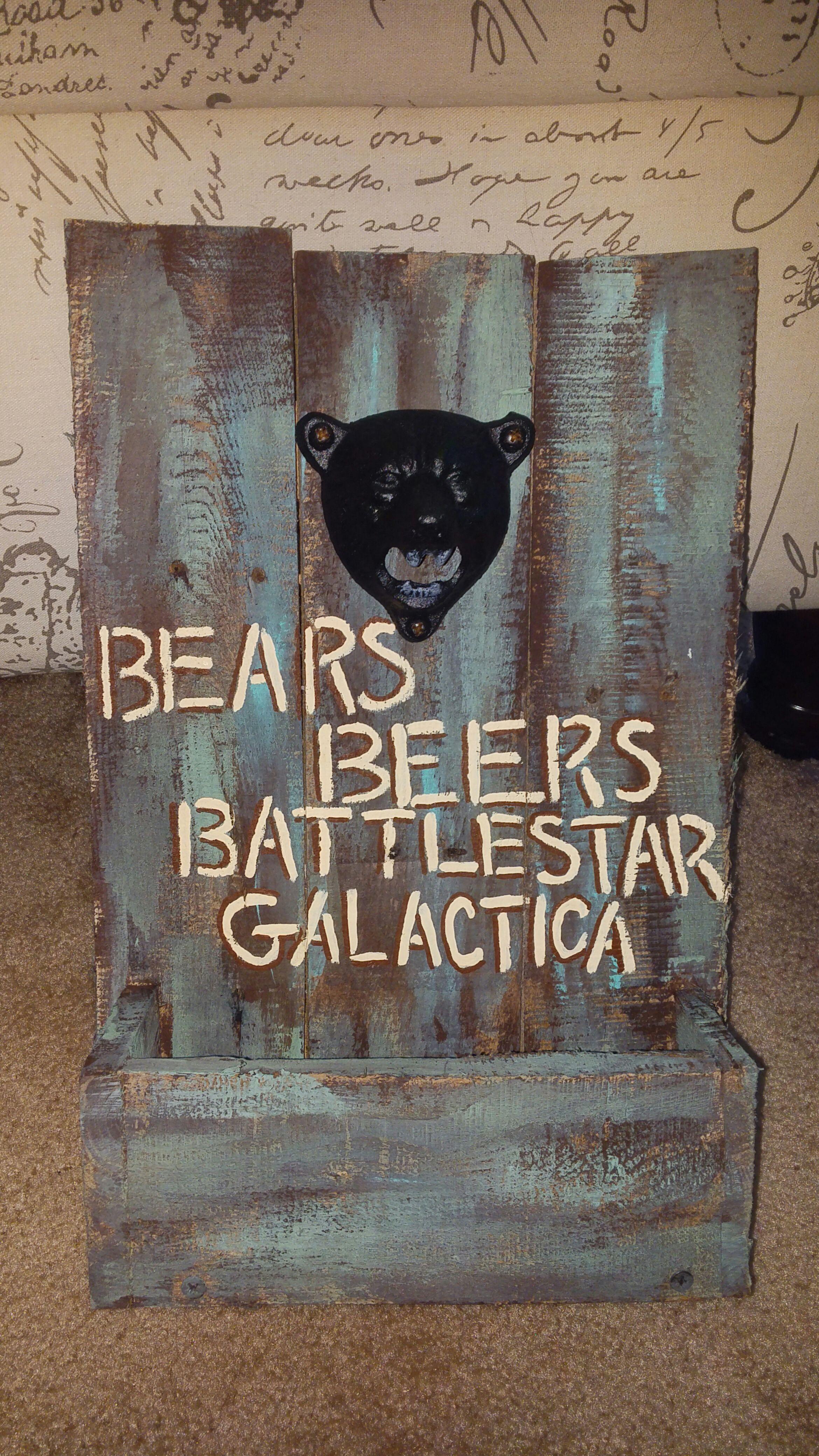 Picture of Pallet Beer Bottle Opener