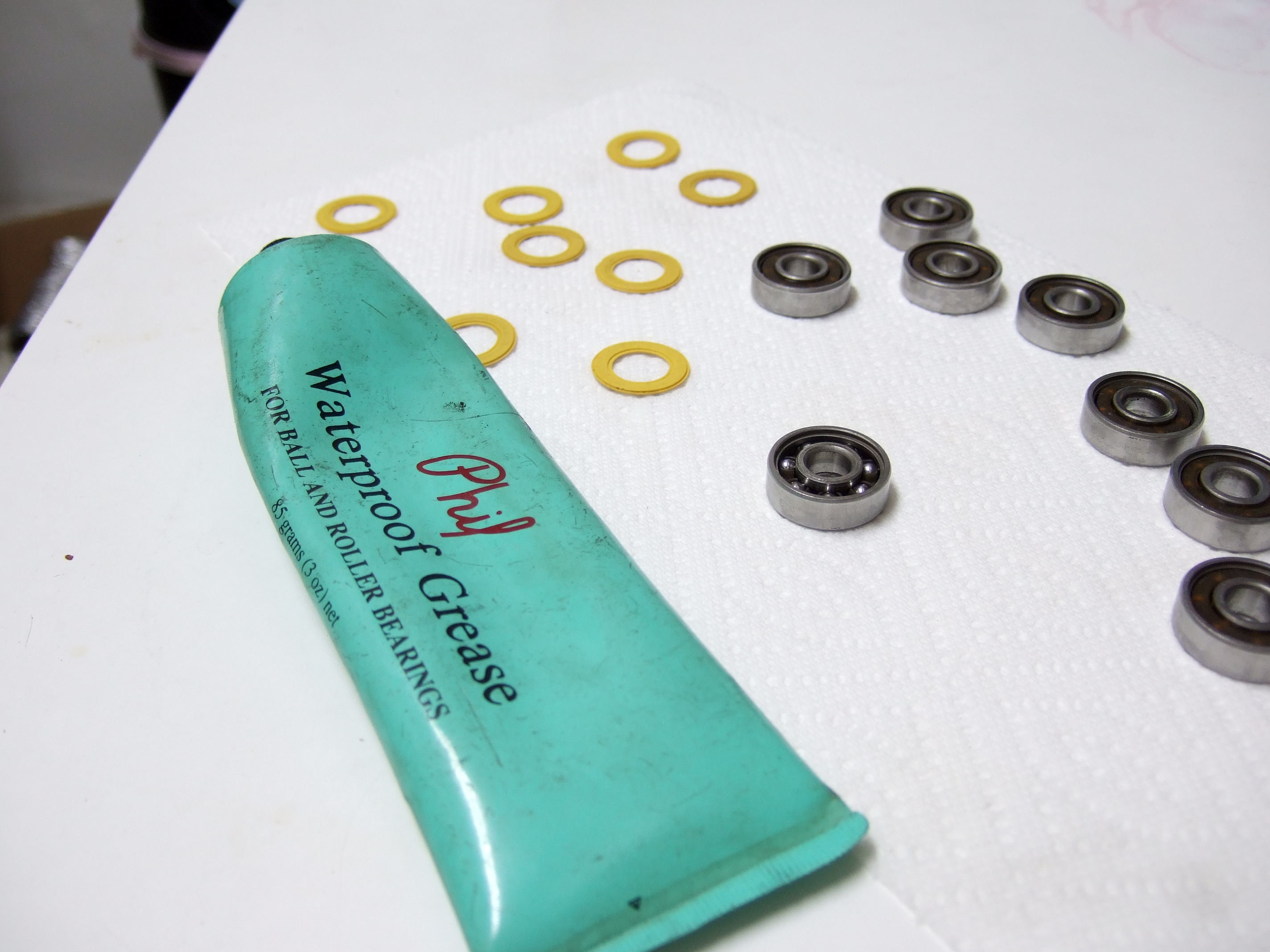 Clean and Grease Your Skateboard Bearings: 6 Steps