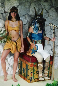 Anubis and Isis