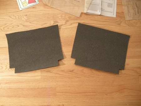 Picture of Cut Out the Foam Interfacing