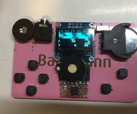 Credit Card ATtiny Game Console