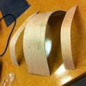 Bending wood with the power of your mind!  . . . and a heat gun