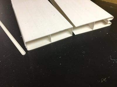 Cut Vinyl Fencing for Slots
