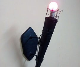 FireTorch Lamp