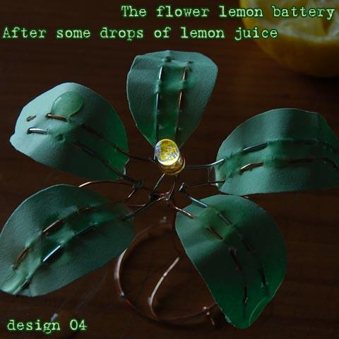 Picture of The Flower Lemon Battery