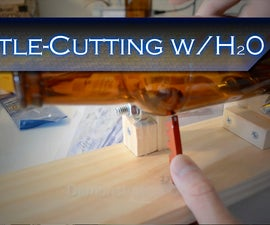 Cutting a Beer Bottle with Hot Water + DIY Scoring Jig