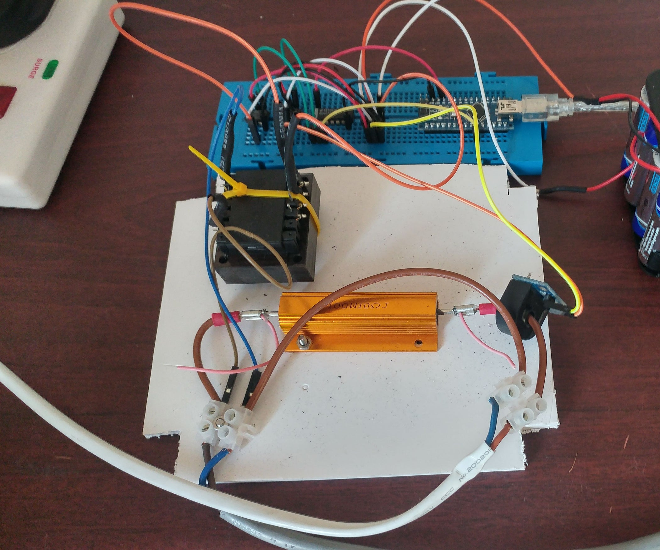 How To Measure Ac Power Factor Using Arduino 4 Steps Way Guitar Switch Wiring Diagram Pinterest