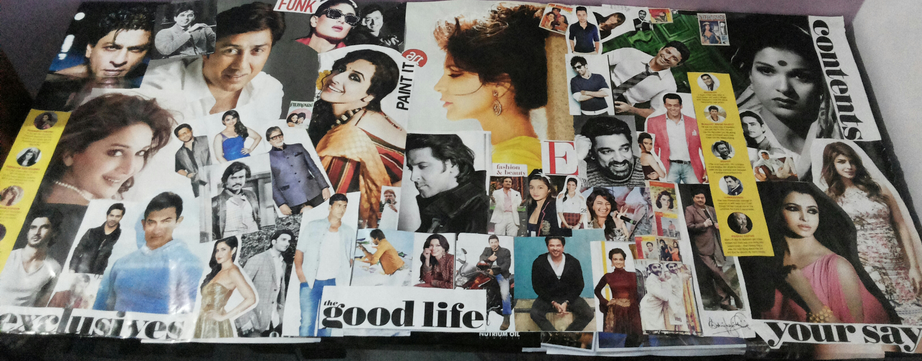 Picture of Making the Collage