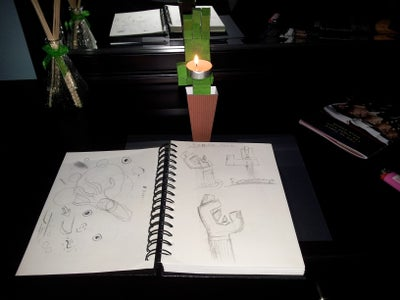 Zombie Hand Guest Book