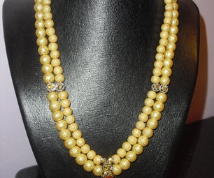 Indian-inspired Collar Necklace
