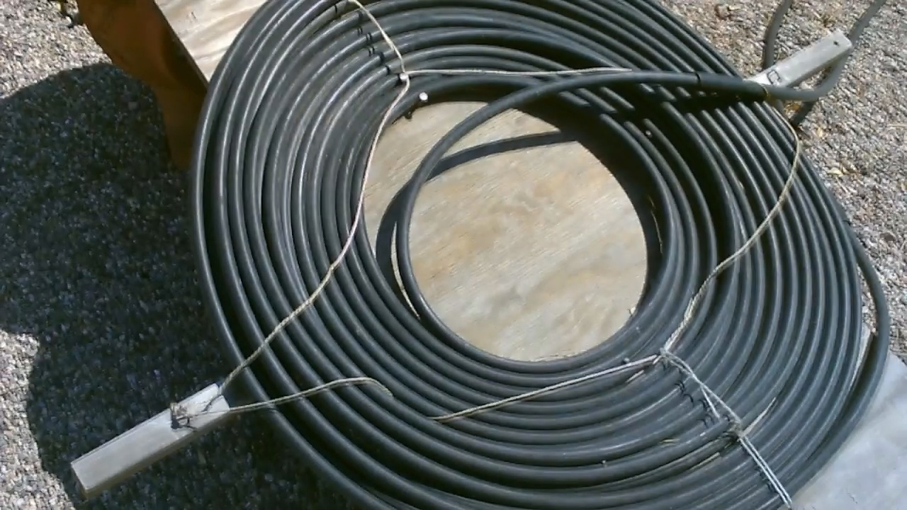 Picture of Solar Hot Water Shower - DIY Solar Shower - (using Black Poly Water Heater)