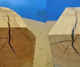 Repairing Split Wood