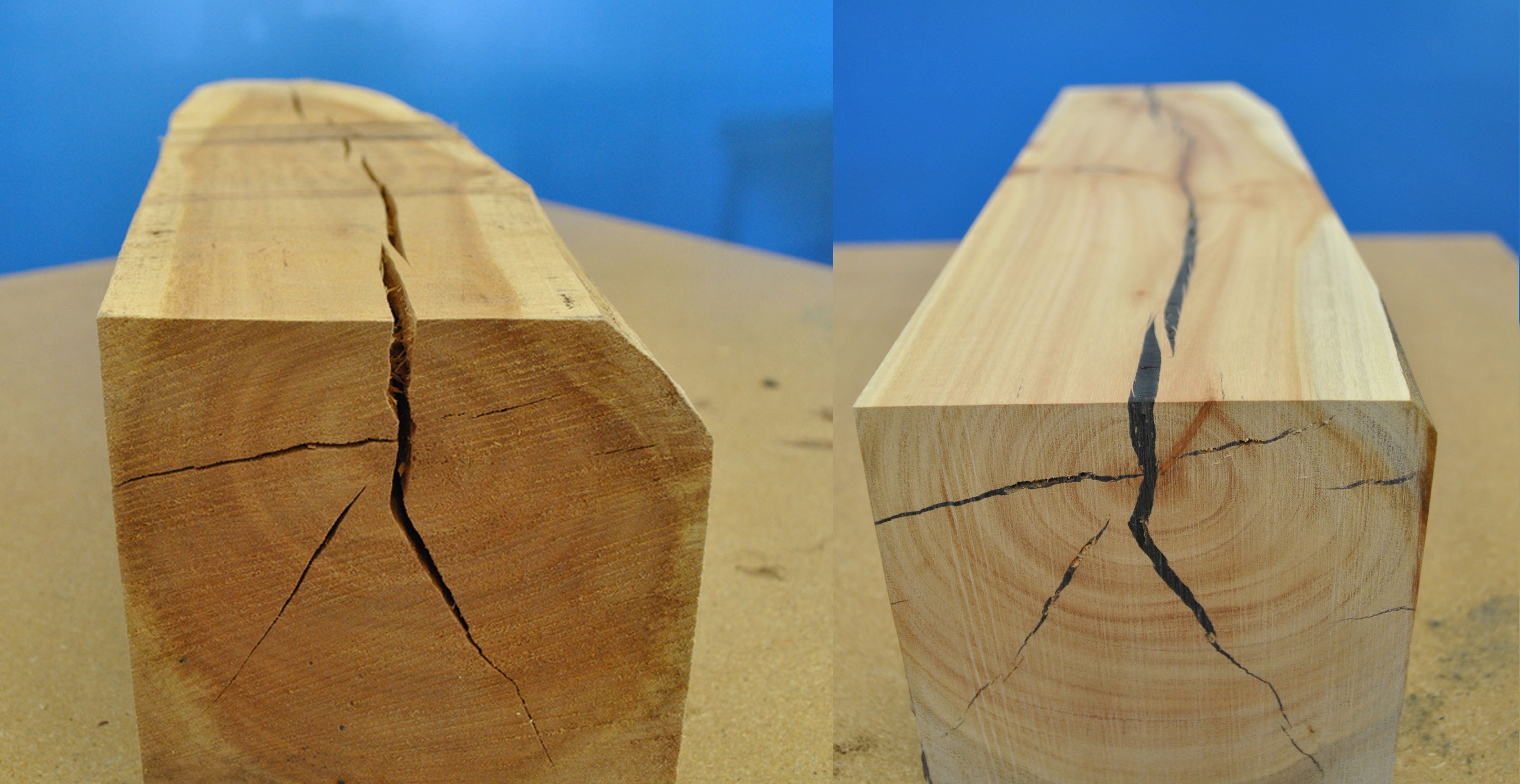 picture How to Fill Cracks in Wood